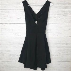 Tobi black cocktail dress. Size small (fits XS)
